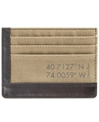 Calvin Klein Men's Canvas Cardcase Fatigue