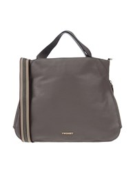Twin Set Simona Barbieri Handbags Grey