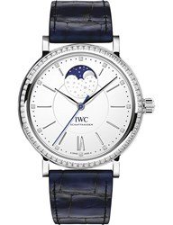 Iwc Iw459008 Portofino Portofino Alligator Leather And Diamond Watch