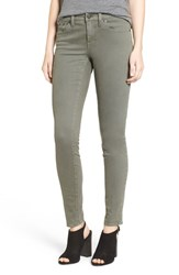 Madewell Women's Garment Dyed Skinny Jeans Highland Green