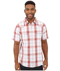 Ecoths Shiloh Short Sleeve Shirt Tabasco Men's Short Sleeve Button Up Red