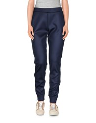 T By Alexander Wang Trousers Casual Trousers Women Dark Blue