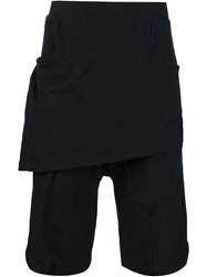 Thamanyah Drop Crotch Shorts Black