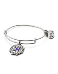 Alex And Ani Mother Of The Bride Expandable Wire Bracelet Silver