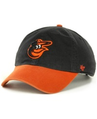 '47 Brand Baltimore Orioles Clean Up Hat Black Orange