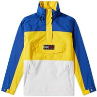 Tommy Jeans 6.0 'S Colour Block Popover Jacket W6 Yellow