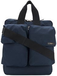 Givenchy Double Pocket Tote Bag Blue