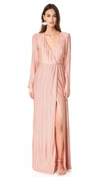 The Jetset Diaries Primavera Maxi Dress Desert Coral