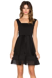 Alexis Rafaelo Netted Dress Black