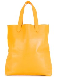 Soulland Shoplifter Tote Yellow Orange