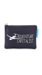 Flight 001 Adventure Capitalist Pouch Navy