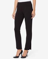 Catherine Malandrino Pull On Straight Leg Pants Black
