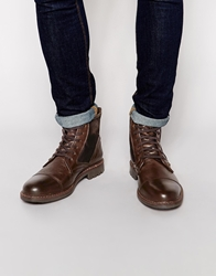 Firetrap Totem Boots Brown