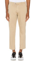 Rolla's Relaxo Cropped Pant In Tan. Sandman