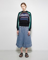 Sacai Denim Culottes Light Blue