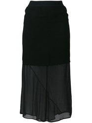 Lost And Found Ria Dunn Layered Skirt Black