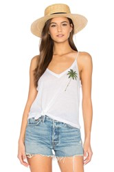 Chaser Palm Tree Tank White