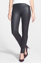 Women's Jen7 Faux Leather Ponte Skinny Jeans