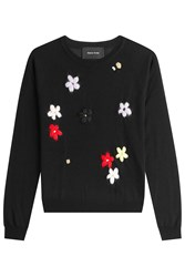 Simone Rocha Pullover With Merino Wool Silk And Cashmere Green