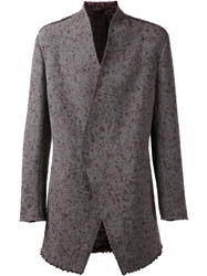 Forme D'expression Fitted Jacket Grey