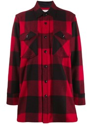 Woolrich Checked Pattern Shirt Black