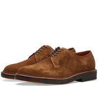 Alden Crepe Sole Plain Toe Blucher Neutrals