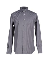 Mazzarelli Shirts Shirts Men Lead