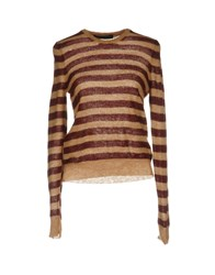 Messagerie Sweaters Maroon