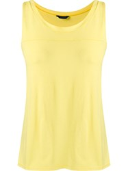 Lygia And Nanny Round Neck Tank Top Yellow And Orange