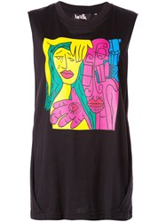 Haculla Relaxed Fit Tank Top Black