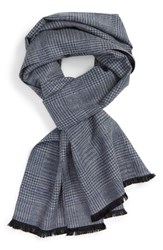 Calibrate Men's Houndstooth Silk Blend Scarf