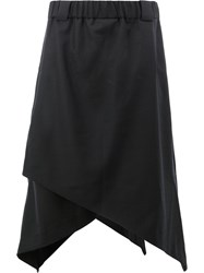 Moohong Long Layered Shorts Black