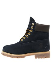 Timberland Exclusive 6 Inch Premium Laceup Boots Navy Blue