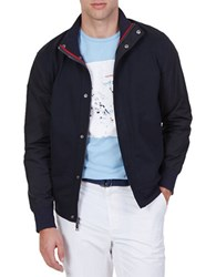 Nautica Lightweight Track Jacket Blue