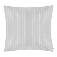 Tommy Hilfiger Sateen Stripe Pillowcase Grey 65X65cm