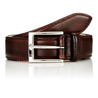 Harris Men's Burnished Leather Belt Brown
