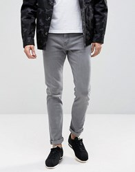 Weekday Jeans Friday Skinny Fit Gray Gray