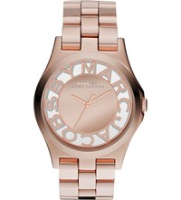 Marc Jacobs Mbm3207 Henry Rose Gold Toned Stainless Steel Watch