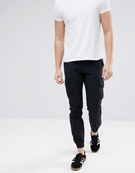 Produkt Cargo Trousers With Cuff Black