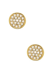 Kate Spade Dainty Sparklers Pave Disc Studs Clear