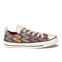 Converse X Missoni Women's Chuck Taylor All Star Ox Trainers Auburn Black Red