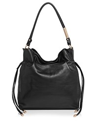 Foley Corinna And Faye Drawstring Hobo Black Gold