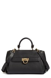 Salvatore Ferragamo Sofia Leather Satchel