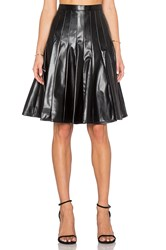 Marc By Marc Jacobs Edie Pleather Skirt Black