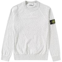 Stone Island Rasto Cotton Crew Sweat Grey