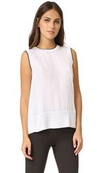 Rag And Bone Abby Tank Bright White