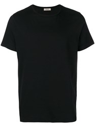 Crossley Hunt Round Neck T Shirt Black