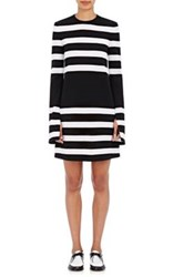 Calvin Klein Collection Women's Kadence Striped Long Sleeve Shift Dress No Color