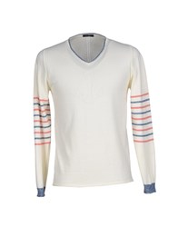 39 Masq Knitwear Jumpers Men Ivory