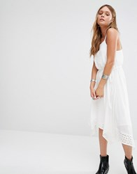New Look Embroidered Sundress Multi